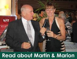 Martin and Marion Shirran