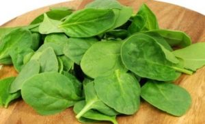 Spinach weight loss