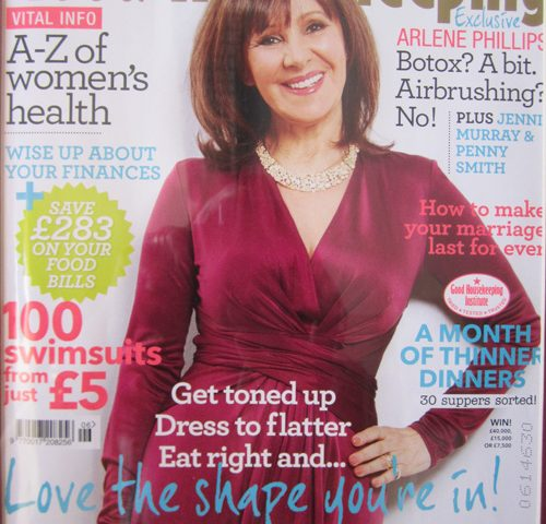Good Housekeeping Mag Front Cover